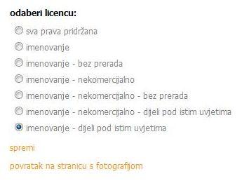autorska prava za fotografije
