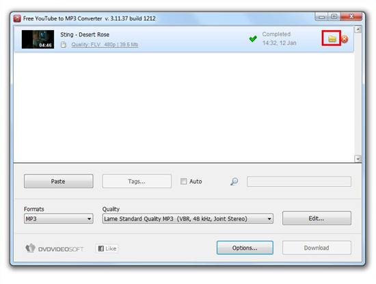 Free YouTube to MP3 Converter 004
