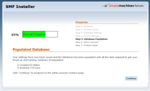 osnovne informacije o bazi podataka